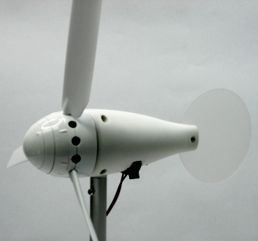 Wind Turbine: WindPitch (Output wires hidden inside the Hollow Stand Tube)